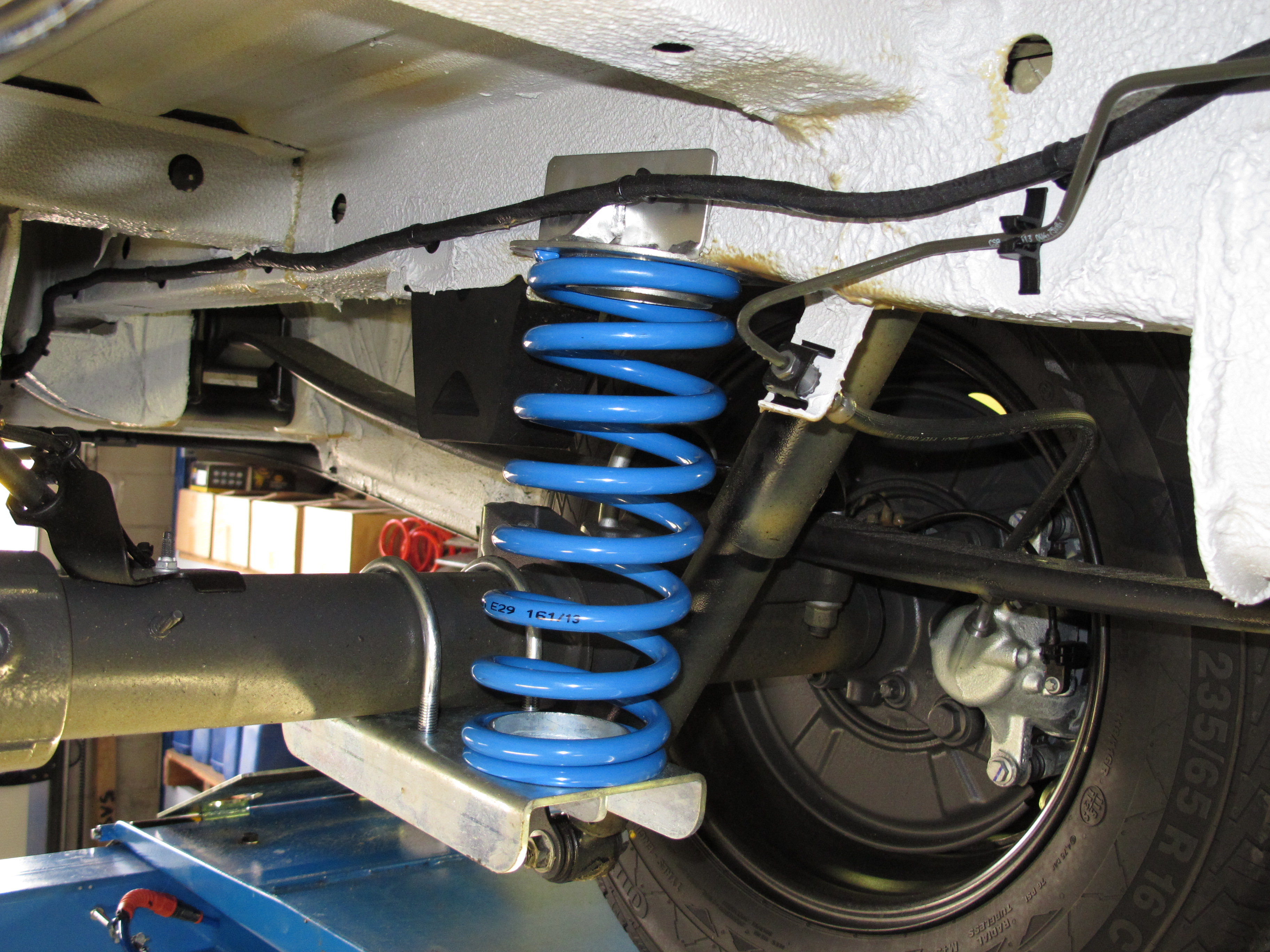 Suspension Upgrades - Jacques Towbar Services